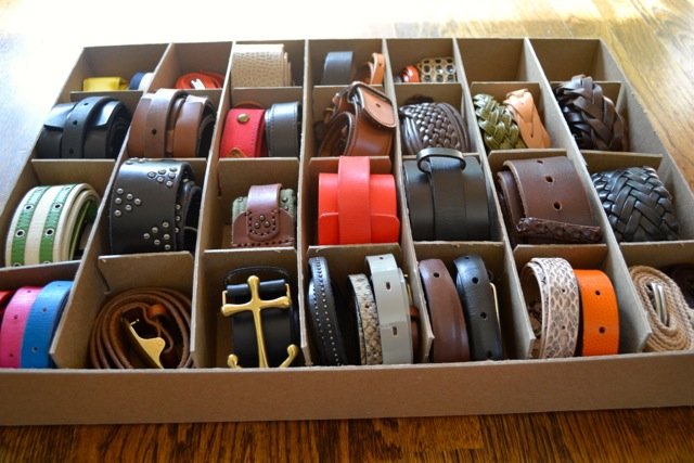 Organization: Belts