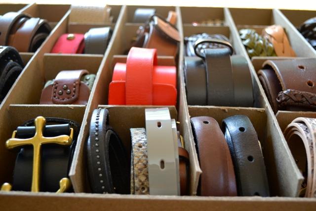 Belt Organization and Storage & Organization: Belts