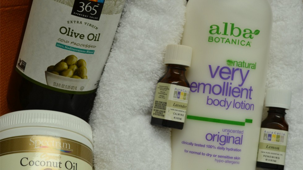 Quick Tip: Natural Body Lotion and Oils