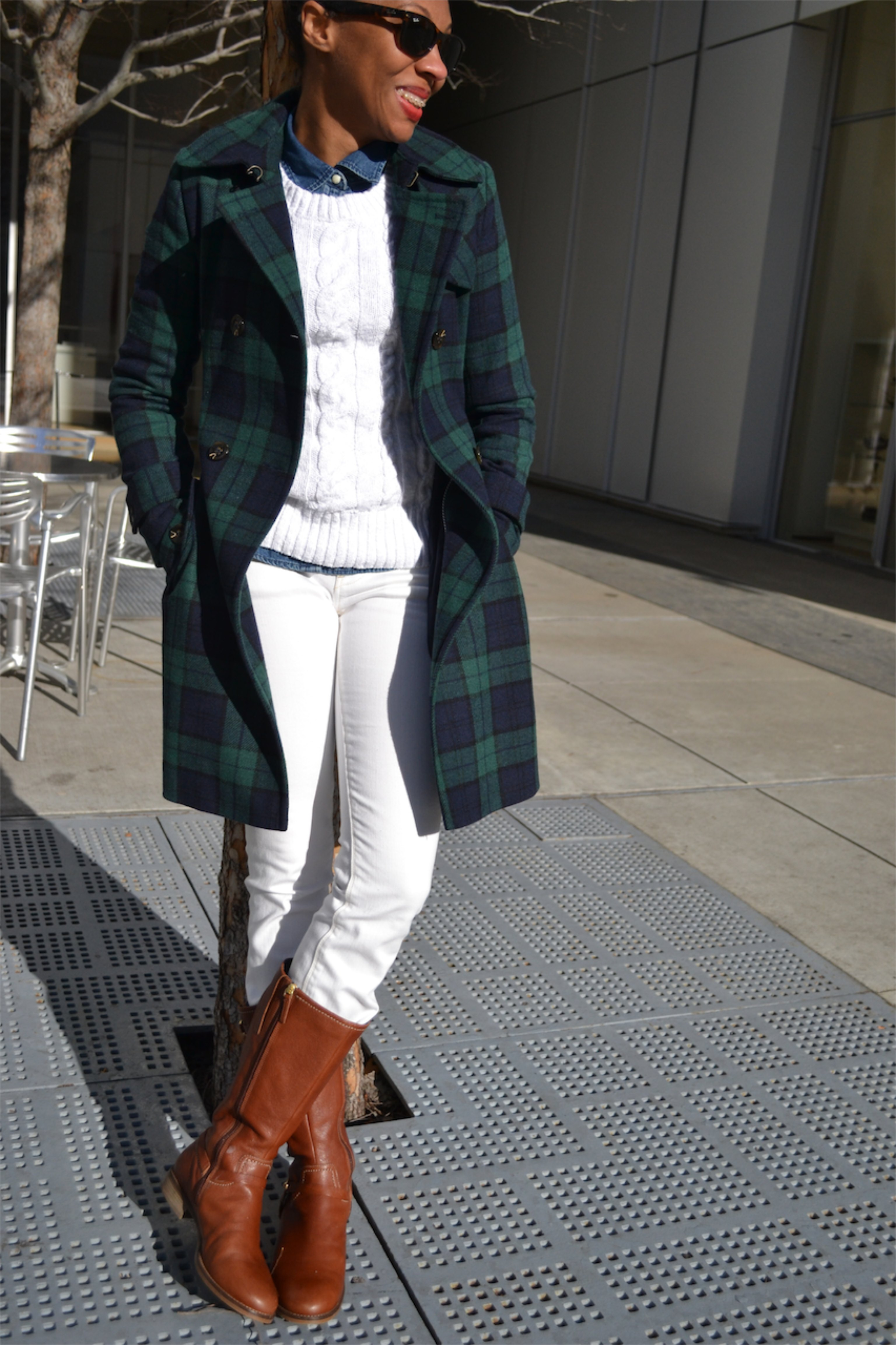 Denim, White, and Plaid 3