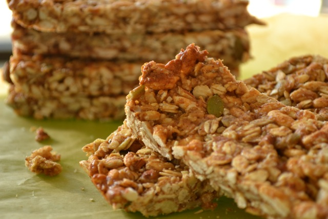 Recipe: Homemade Granola Bars