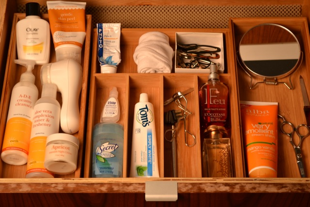 How To Organize Toiletries