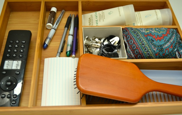 How To Use Bamboo Trays As Drawer Organizers