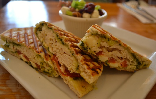 Chicken & Pesto Panini