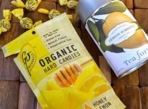 Little Luxuries: Honey Lemon Candies and Tea