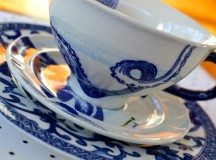Little Luxuries: Nautical Cup & Saucer