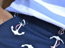 3 Ways to Wear Anchor Print Shorts and Stripes