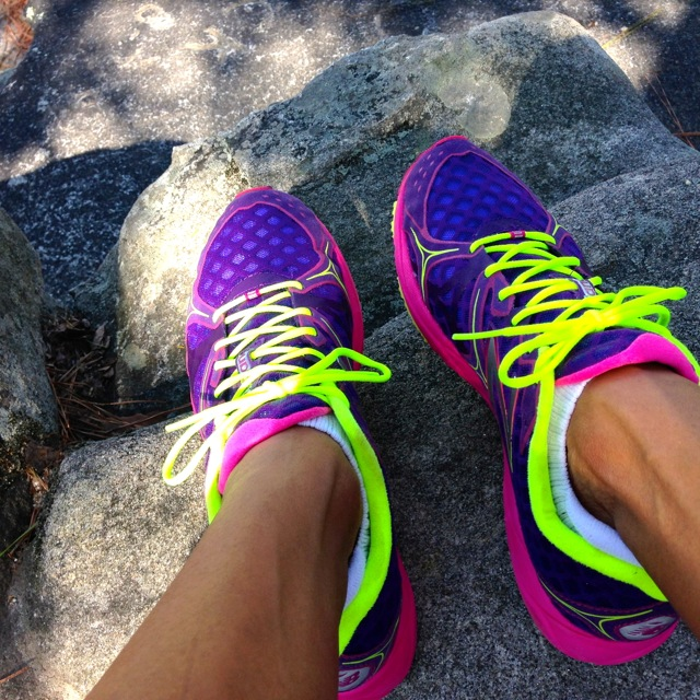 New Balance 1400 Neon Running Shoes