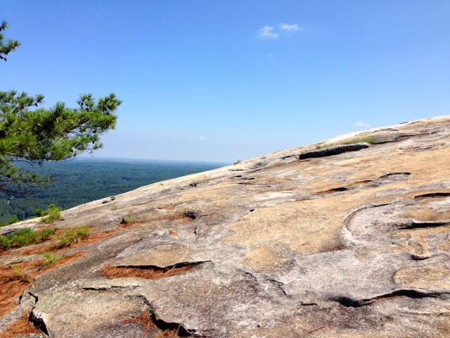 Hiking at Stone Mountain Park 7