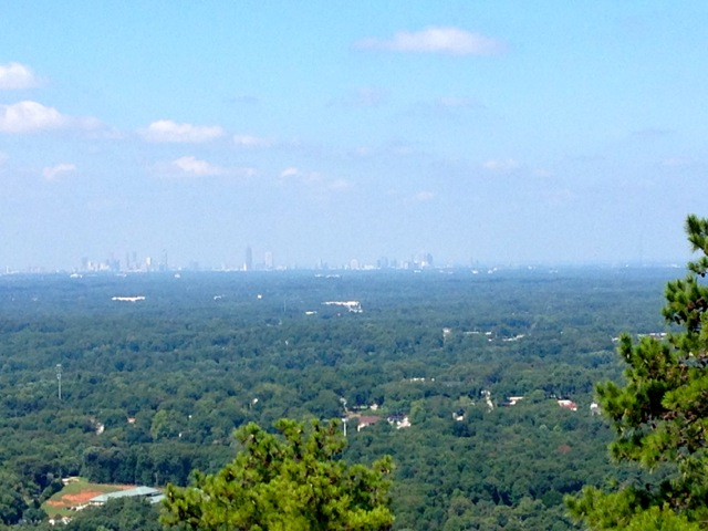 View of the City from Stone Mountain Park
