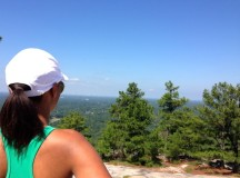 Hiking at Stone Mountain Park
