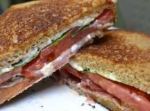 Bacon, Arugula, and Heirloom Tomato Sandwich