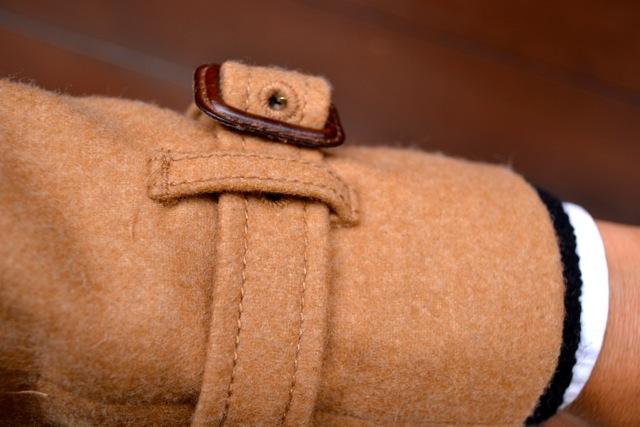 Detail: Camel Coat