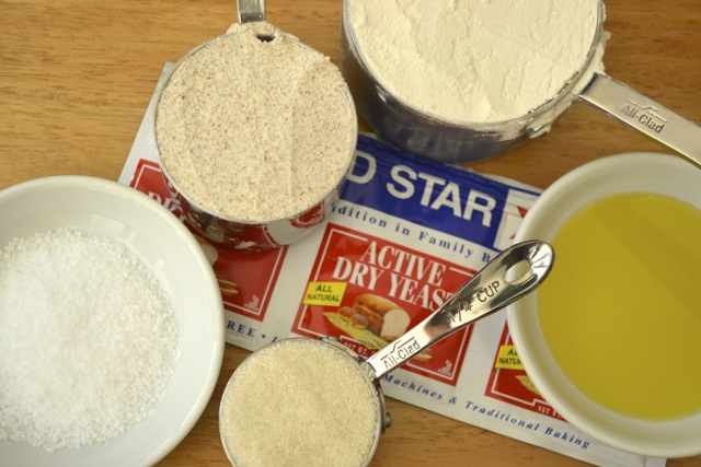 Recipe Ingredients: Homemade Pizza Crusts