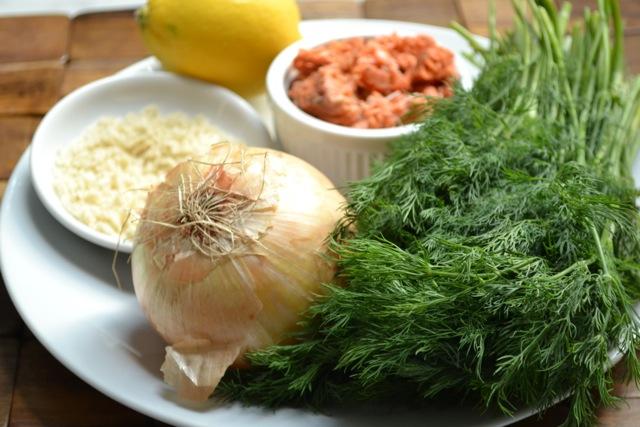 Ingredients: Salmon Cakes