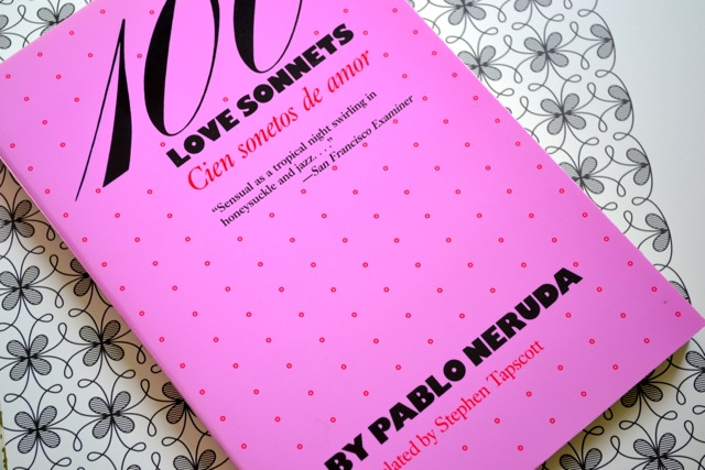 Books: 100 Love Sonnets by Pablo Neruda
