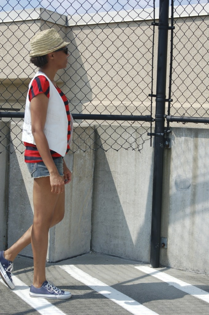2 Ways to Wear Red, White, and Blue 4
