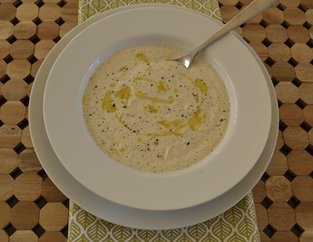 Roasted Cauliflower Soup 2