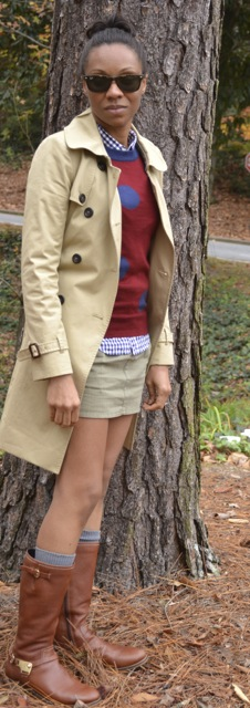 2 Ways to Wear Mini Skirts in Cooler Weather 4