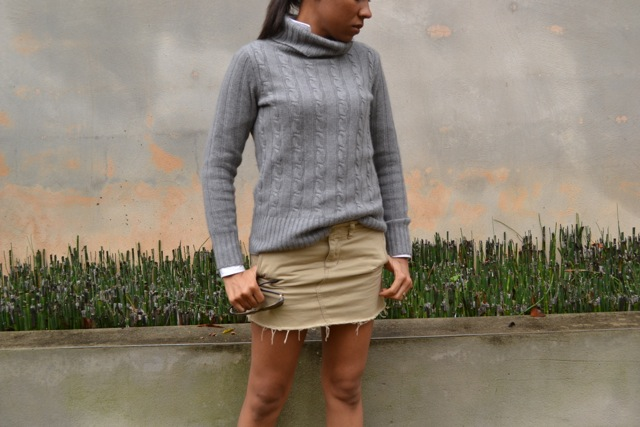 2 Ways to Wear Mini Skirts in Cooler Weather