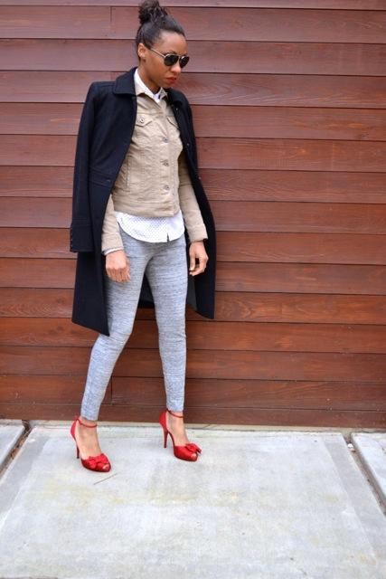 Sweatpants and Heels: Look 2(b)
