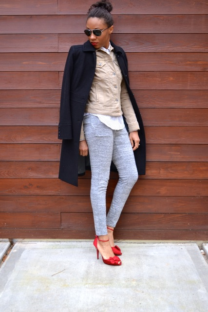 Sweatpants and Heels: Look 2(c)
