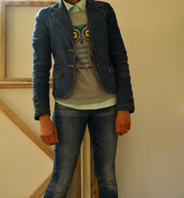 Double Denim and Gray 1