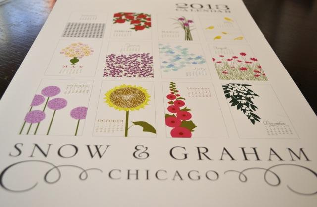 Little Luxuries: Snow & Graham Calendar 3