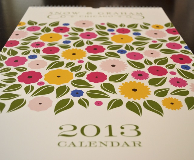 Little Luxuries: Snow & Graham Calendar