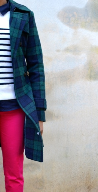 Stripes + Plaid + Hot Pink 2