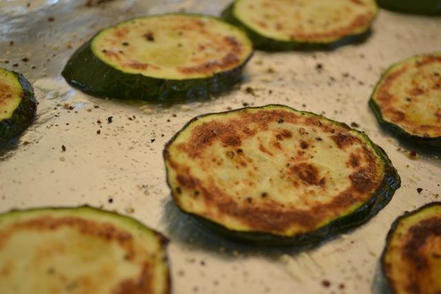 Roasted Veggies: Zucchini/Yellow Squash