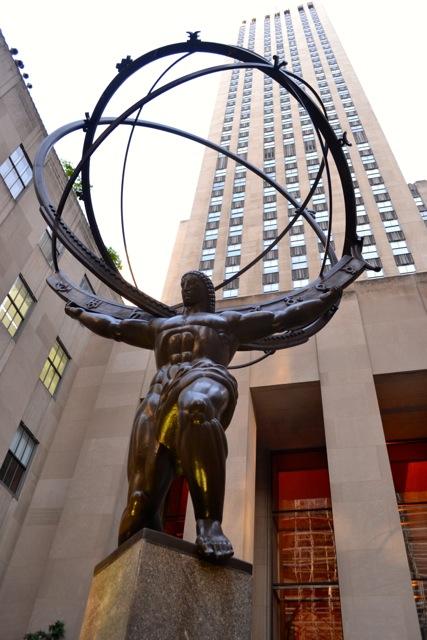 Atlas: Rockefeller Center