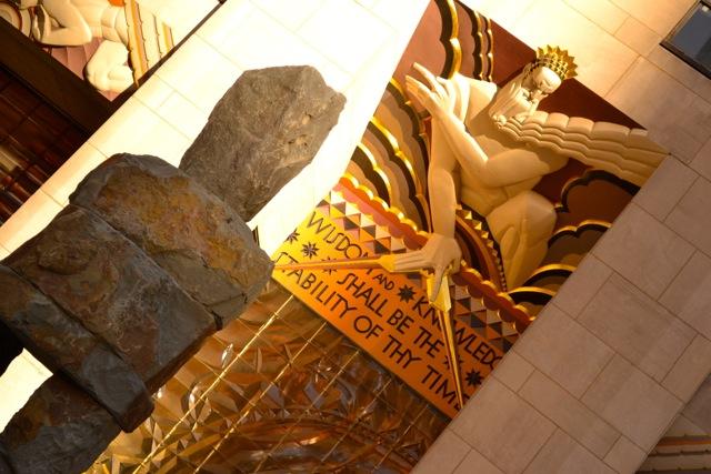 Wisdom Sculpture: Rockefeller Center