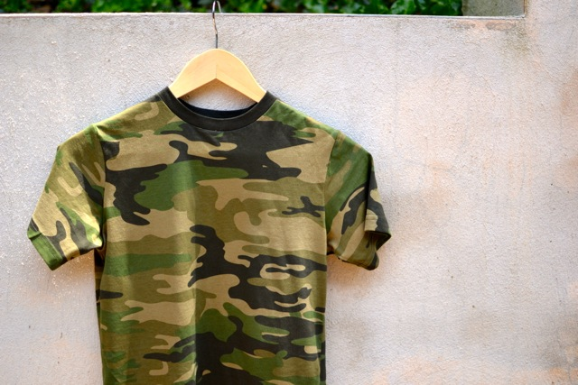 3 Ways to Dress Up a Camo Tee