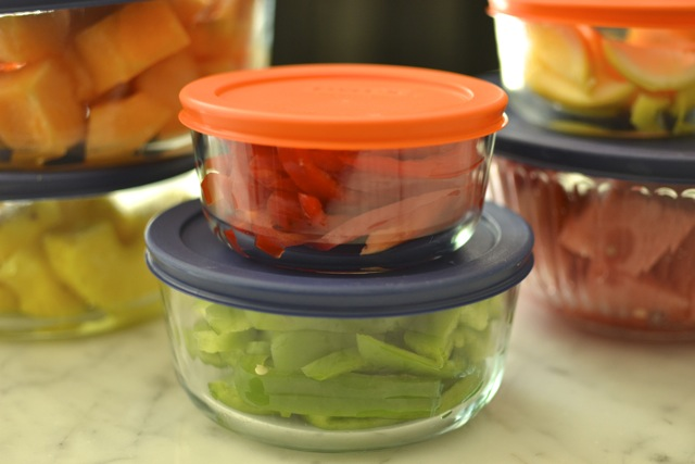 Quick Tip: Prep and Store Healthy Foods
