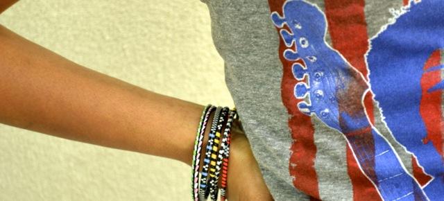 Hendrix Tank + Bracelets