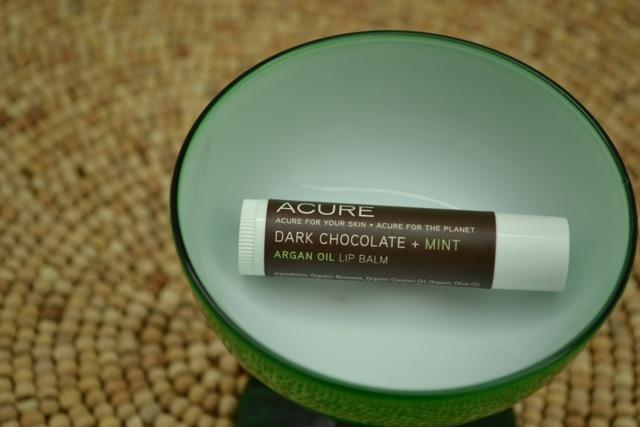 Acure Dark Chocolate + Mint Lip Balm 2