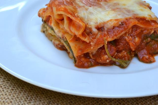 Recipe: Spinach Lasagna 5