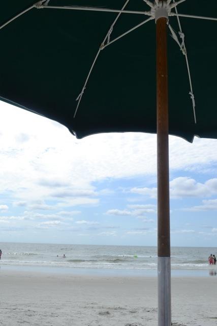 Beach Umbrella View