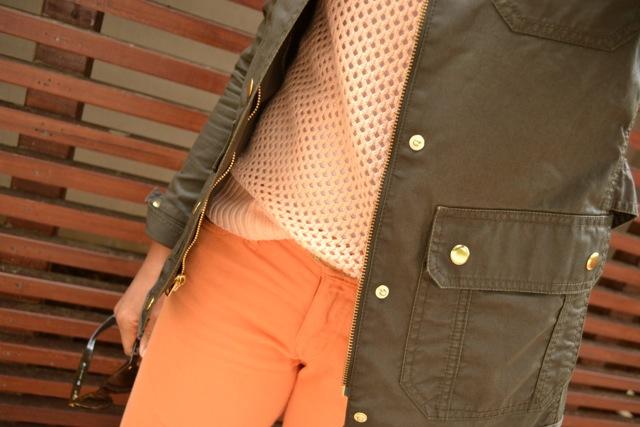 Jeans + Open Knit Sweater + Jacket 4