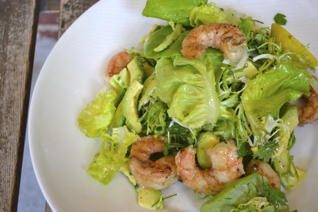 Grilled Shrimp and Avocado Salad
