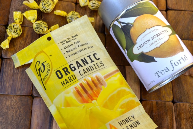 Little Luxuries: Honey Lemon Candies and Tea
