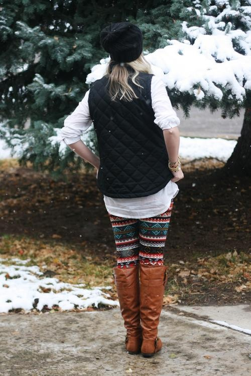 How to Style a Vest 4