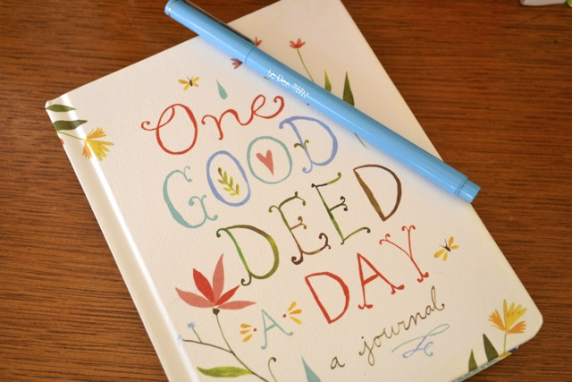 Books: One Good Deed a Day Journal