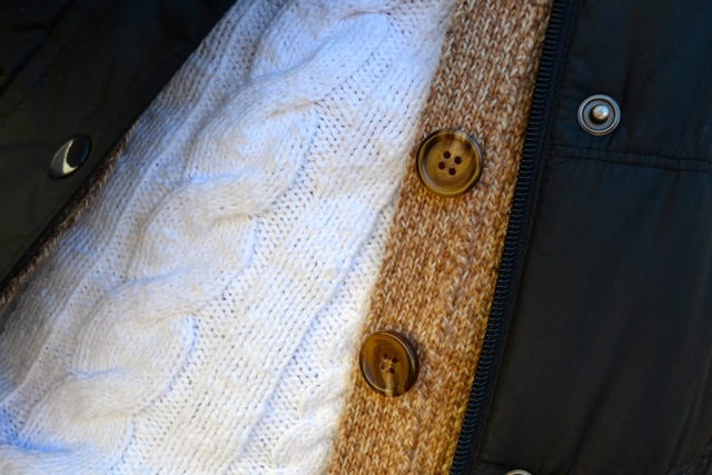 Sweater + Cardigan + Puffer Vest