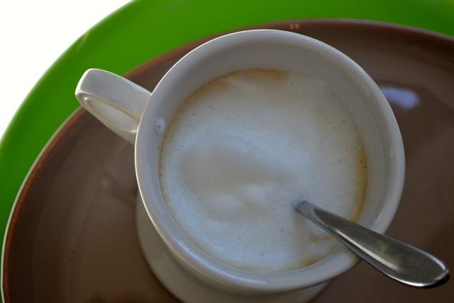 Vanilla Caramel Cafe' Latte 2