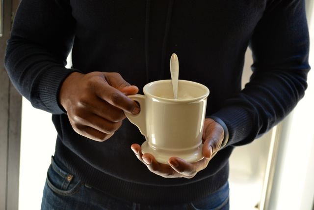 Vanilla Caramel Cafe' Latte 3