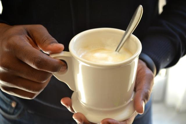 Vanilla Caramel Cafe' Latte