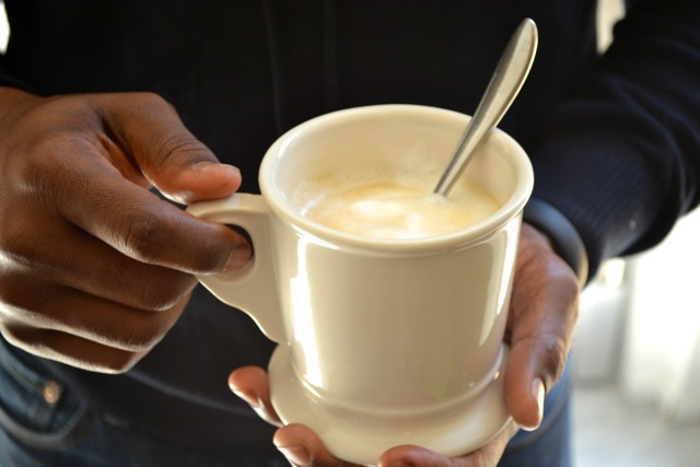 Hub on the Blog: Vanilla Caramel Cafe' Latte