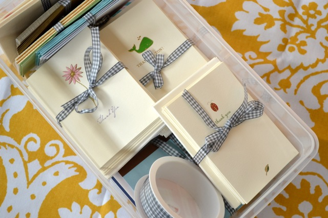 Quick Tip: Stationery Organization